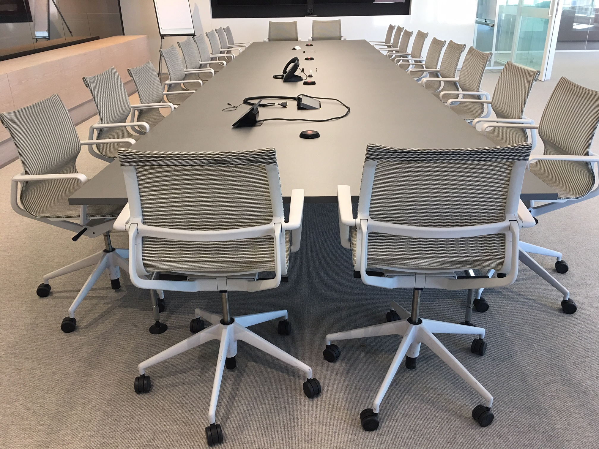 Corporate Boardroom with large Board table and chairs