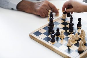 Advancing through a game of chess